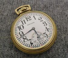I11 Hamilton 992 16s 21j Antique 10K GF Railroad Pocket Watch *GIFT QUALITY*