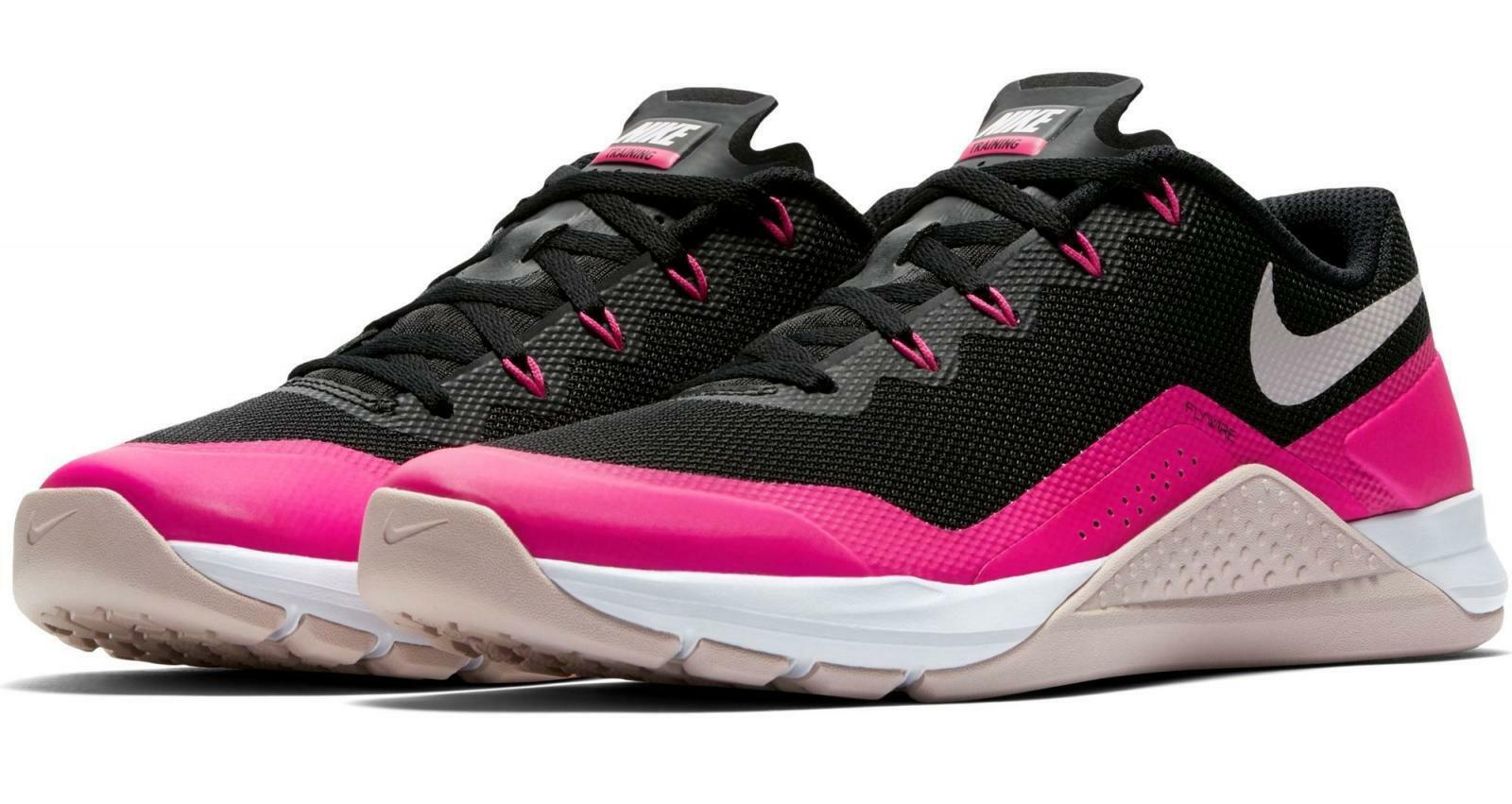 Damen Nike Metcon Metcon Metcon Pepper Dsx Schwarz Rot Rosa Turnschuhe 902173 012   bc63b1
