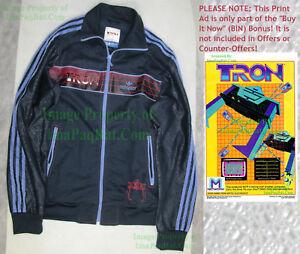Nitf Adidas Tron Disney Adicolor Track Jacket Size Medium Full Zipper Big Pics Ebay