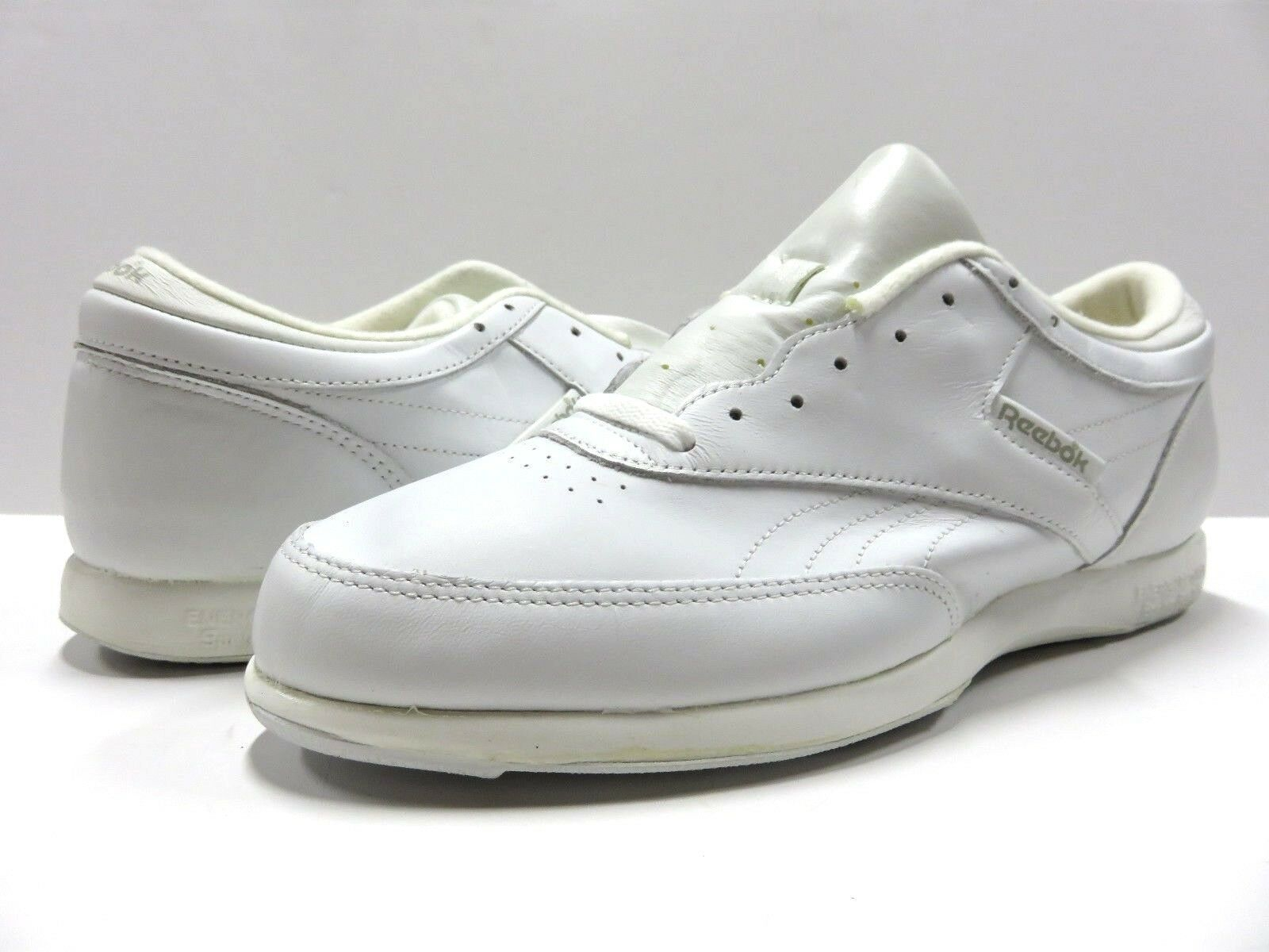 Reebok Fitness Walker bianca bianca bianca Leather Walking scarpe Uomo Sz 11.5 w  Original Box 4c50b4