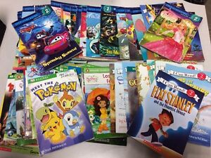 RANDOM-LOT-of-10-LEVEL-2-GRADE-early-readers-step-into-reading-books-phonic