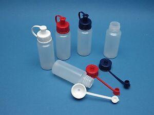 30ml-LD-PE-Flasche-mit-Spritzdeckel-Kunststoff-Flasche-mit-Tuelle-Dosierflasche