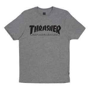 94ac1e91aa0 Image is loading Brand-New-HUF-X-Thrasher-Tour-T-Shirt-