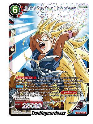 ♦Dragon Ball Super♦ Son Goku Super Saiyan 3 SD2-02 ST Foil limite pulvérisée