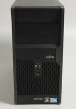 FUJITSU p2560 Intel e5800 3.20 GHz, 4gb di RAM, unità disco rigido da 320gb, DVD-RW, WIN 7 PRO