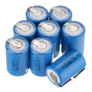 2-4-8pcs-4-5-SC-Sub-C-1-2V-2200mAh-Ni-Cd-Rechargeable-Battery-For-Solar-Device