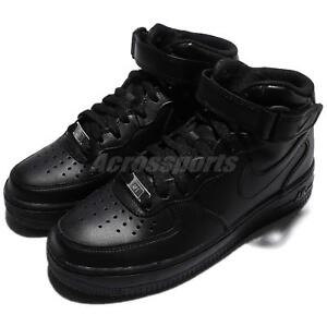 Wmns-Nike-Air-Force-1-Mid-07-LE-Black-Out-Women-Shoes-Sneakers-AF1-366731-001