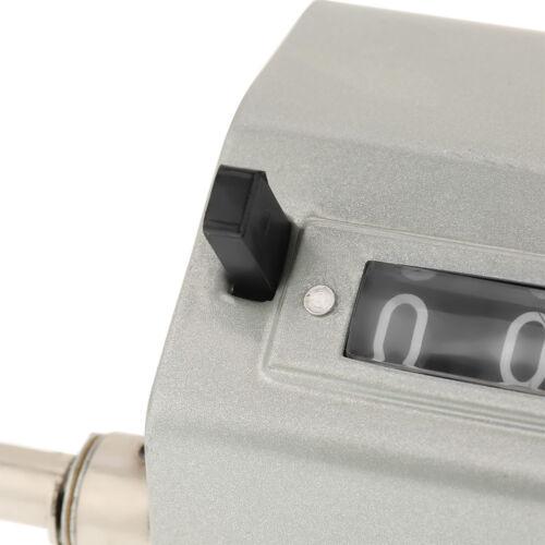 5-stellig Rolling Wheel Längenzähler Meterzähler 0-9999.9 Counter Max 350RPM