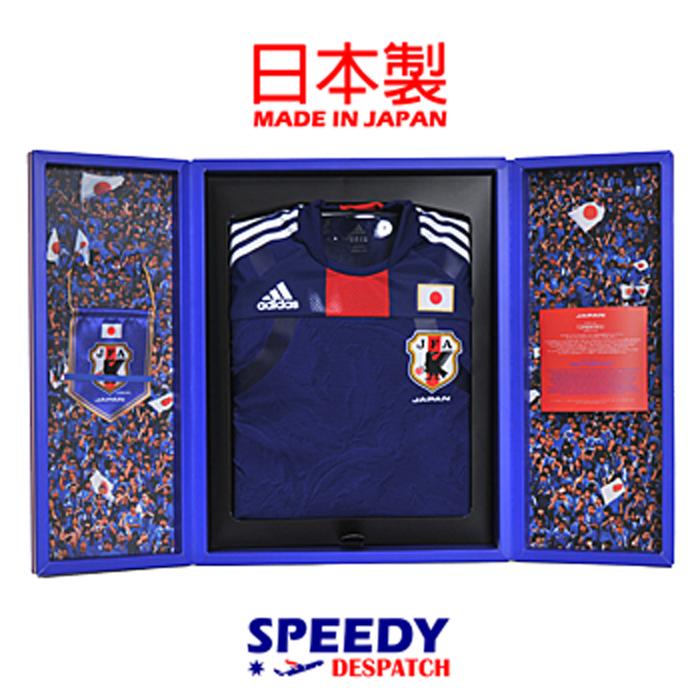 Equipo nacional de fútbol Adidas japonés casa Auténtico Jersey Compresión Techfit