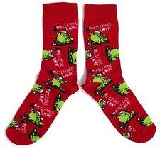 Herren Mistletoad & Wine Mistletoe Kröten-Frosch Socken Uk 11.06 / Eur 39-45 / U