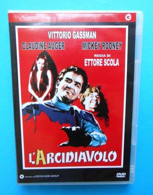 film dvd arcidiavolo ettore scola vittorio gassman claudine auger mickey rooney
