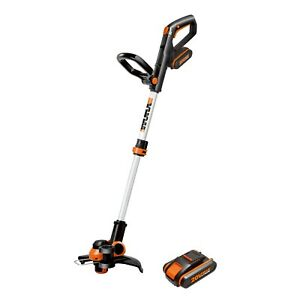 WORX 20V 2-in-1 Trimmer/Edger, w/ command feed, 2x battery,charger incl.