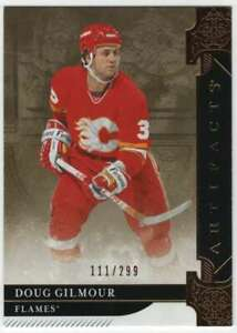 2019-20-Upper-Deck-Artifacts-Copper-299-158-Doug-Gilmour-Flames