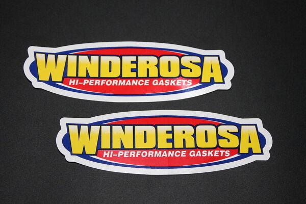 #99 Winderosa Gaskets Moto Motorrad Aufkleber Sticker Decal Bapperl Kleber Race Sterke Weerstand Tegen Hitte En Hard Dragen