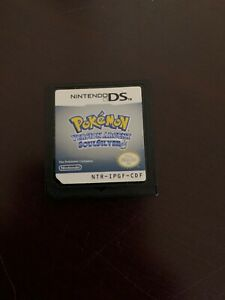 Pokemon-SoulSilver-Version-Argent-Nintendo-DS-2010-Rare-Game-French-language