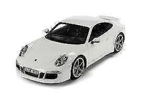 1 18 GT Spirit 2012 Porsche 911 991 Carrera S Club Coupe White Lmtd.1000St.