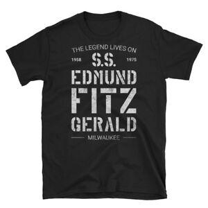 Edmund-Fitzgerald-Great-Lakes-Famous-Shipwreck-Legend-Unisex-T-Shirt