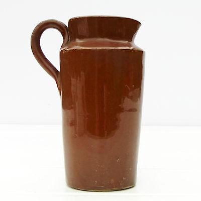 Vintage Antique Victorian Port Dundas Stoneware Cream Crock Jug c1888