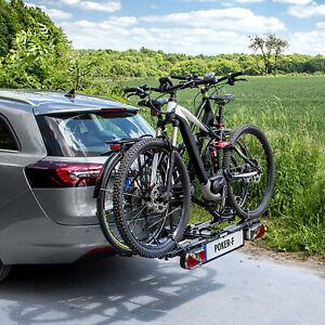 Eufab-Kfz-Fahrrad-Hecktraeger-POKER-F-Fuer-2-Fahrraeder-Elektrofahrraeder