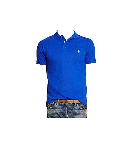 riforma fienile al contrario  Polo Ralph Lauren Heritage Royal Blue Mesh Knit Shirt Men L Pink Pony for  sale online | eBay