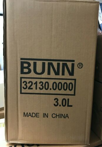 Bunn 32130 Stainless Steel Lever-Action Airpot Coffee Hot Tea 3 Liters