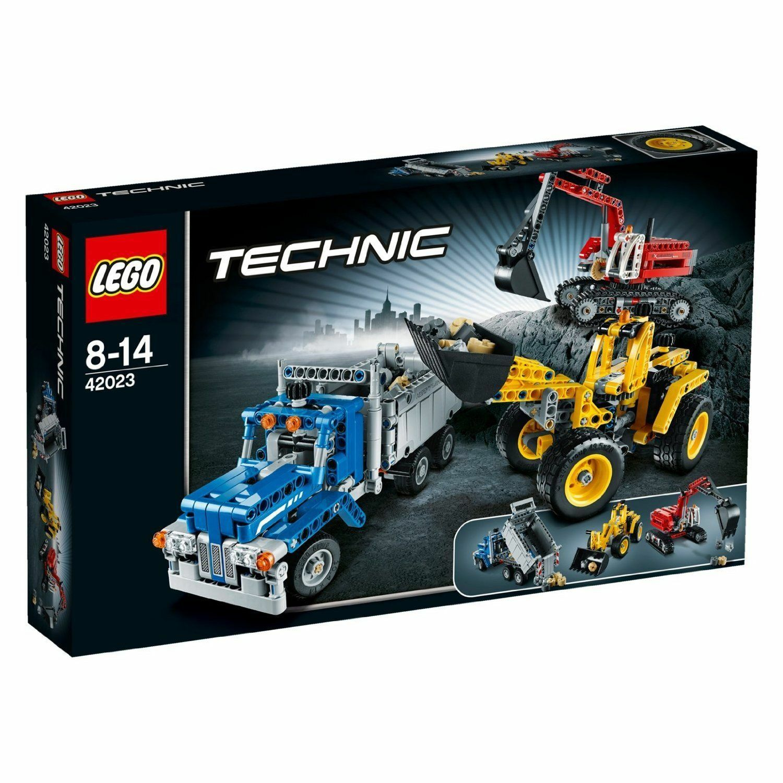 LEGO Technic - 42023 Construction Crew - Brand New   Sealed