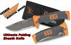 Gerber Bear Grylls Ultimate Folding Sheath Knife Partially Serrated 31-000752