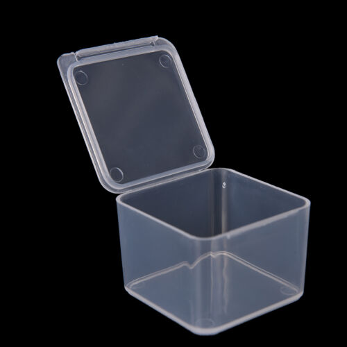 New Small Travel Clear CG Transparent Storage Box Case PU Superhard Plastic NIU