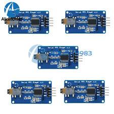 5pcs Yx5300 Uart Control Serial Mp3 Music Player Module For Arduinoavrarmpic