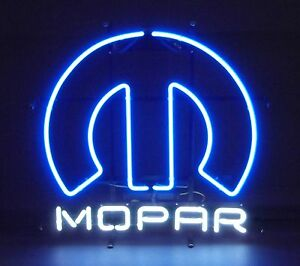 ef2d95654a Neon sign Mopar Omega M Chrysler Plymouth Muscle Car Charger Dodge ...