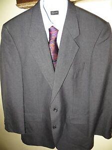 Alexandre-Savill-Row-of-London-Wool-Blue-Blazer-Sports-Coat-Suit-40-50-Reg-Hot