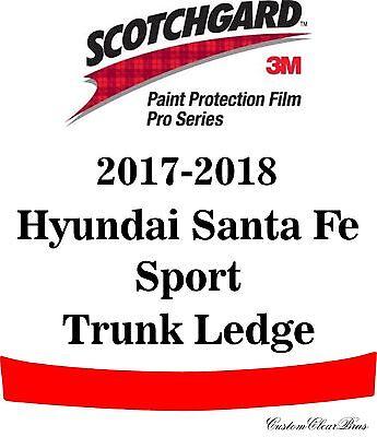 3M Scotchgard Paint Protection Film Clear Fits 2017 2018 Hyundai Santa Fe Sport