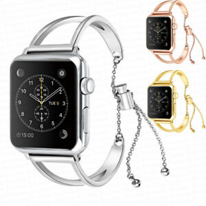 38mm-42mm-Stainless-Steel-Bracelet-iWatch-Band-Women-Strap-for-Apple-Watch-3-2-1