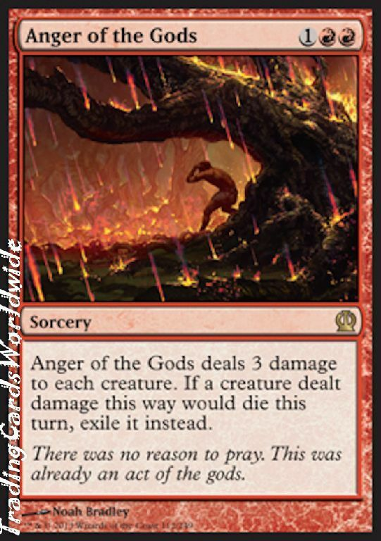 Anger of the Gods      Foil    NM    Theros    engl.    Magic the Gathering 50d565