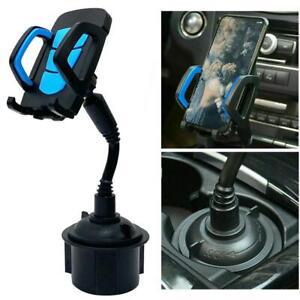 Universal-Adjustable-Phone-Mount-Car-Cup-Holder-Stand-Cradle-For-Phone-Holder