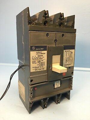 GE SGHA36AT0400 400A Circuit Breaker w// Shunt /& 350 Amp Trip 3P General Electric