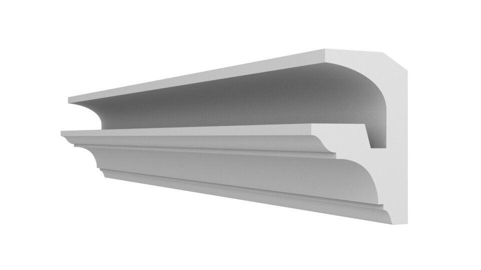 XPS Lightweight FL2 Polystyrene COVING LED Lighting cornice Uplighter Quality