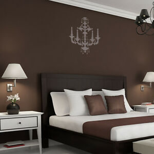 Chandelier wall stencil beatrice for wall decorate painting image is loading chandelier wall stencil beatrice for wall decorate painting aloadofball Image collections
