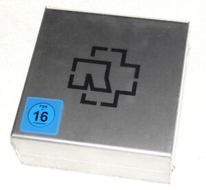 RAMMSTEIN-Made-In-Germany-Limited-Super-Deluxe-Steelbox-2CD-3DVD-Book-NEW
