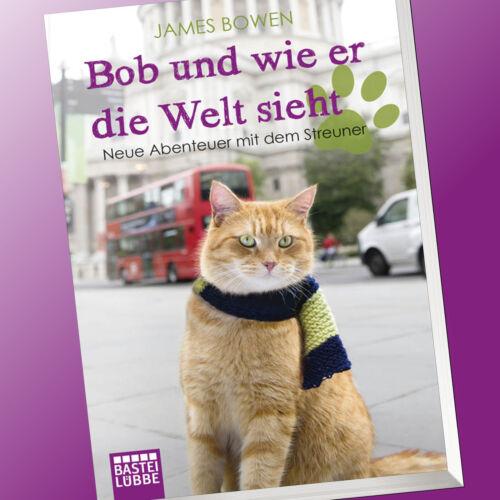 1 von 1 - JAMES BOWEN   BOB UND WIE ER DIE WELT SIEHT   BOB DER STREUNER (Buch)