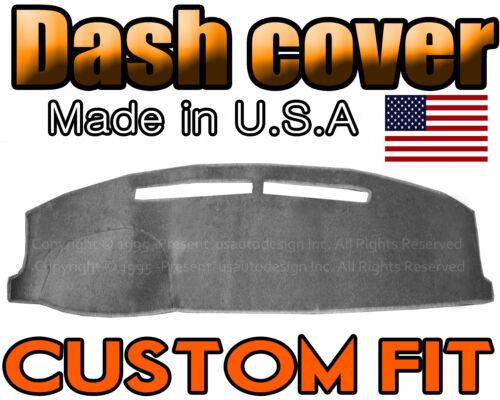 CHARCOAL GREY Fits 2007-2012 HYUNDAI SANTA FE DASH COVER MAT DASHBOARD PAD