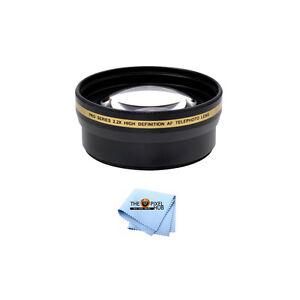 58mm-2-2x-HD-Telephoto-Lens-Canon-Nikon-Sony-Panasonic-Fits-all-58mm-Threads