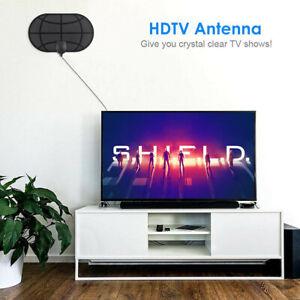 50 Millas Distancia Interior Digital TV Antena HDTV 1080P 4K Amplificador