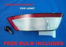 FORD FOCUS MK2 2008-2015 CLEAR REAR BUMPER FOG LIGHT EURO STYLE