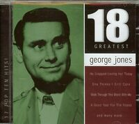 George Jones - 18 Greatest - Cd -