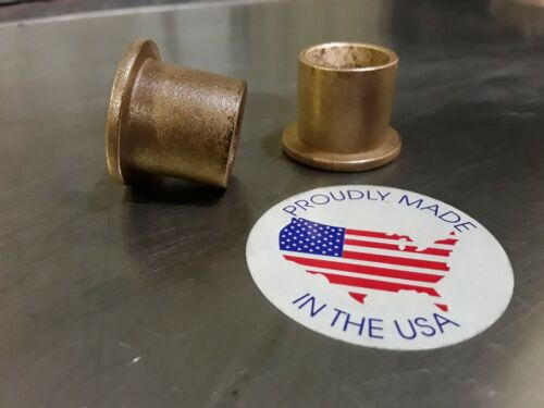 "5//8/""x 3//4/""x 3//4 Bronze Flanged Bushing 2pc Made In USA AMERICAN BRONZE"