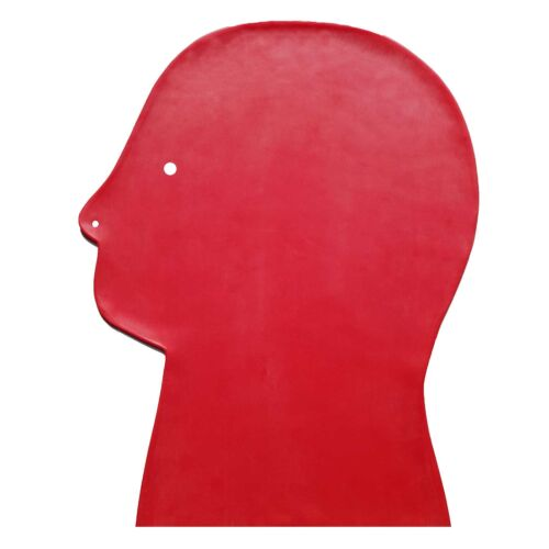 one size Brand New Red Latex Rubber Gummi Hood Mask