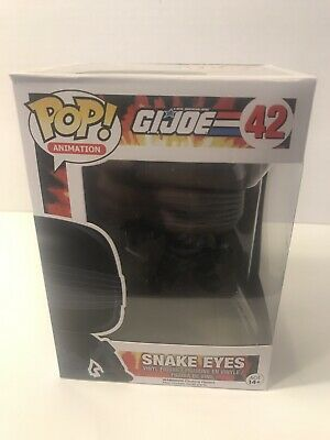 Funko POP TV Joe Snake Eyes Action Figure G.I