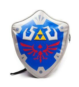 Nintendo official Legend of Zelda Hylian 3D Shield shaped Backpack - brand new