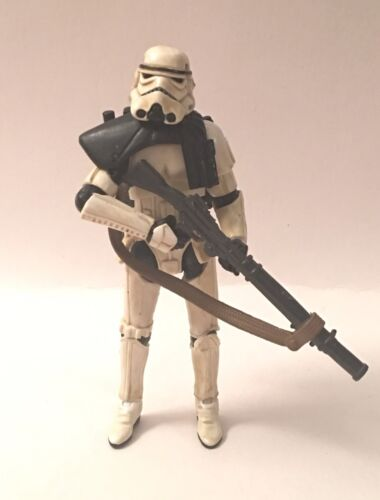 Star Wars Legacy Sandtrooper Corporal loose Incomplete 2013 Amazon Droid Factory